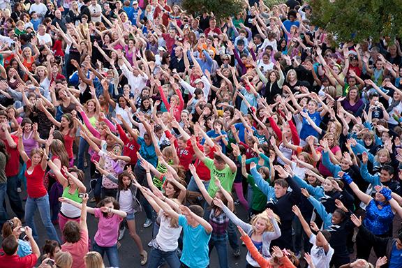 flash mob dans hizmetleri