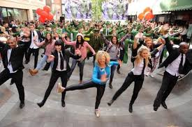 flash mob dance