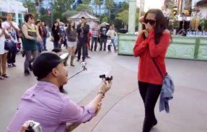 dans gösterisi ile evlilik teklifi